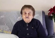 Video viral: Abuela responde con euforia a 'youtuber' que habló mal de su localidad en España