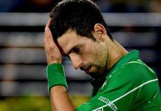 """Djokovic tras quedar descalificado del US Open: """"Estoy realmente triste y vacío"""""""