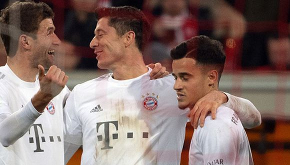 Bayern Munich goleó 4-0 al Fortuna Dusseldorf por la fecha 12 de la Bundesliga. (Getty Images)