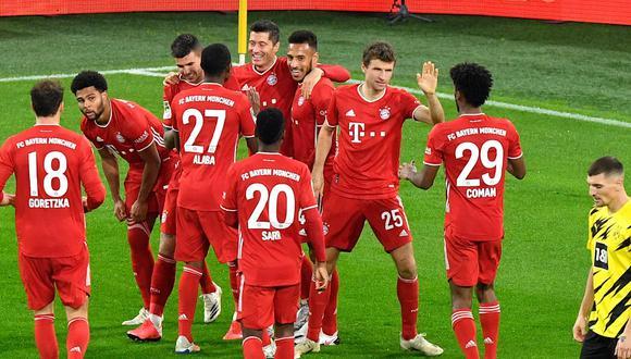 Bayern Munich ha sufrido la baja de cinco jugadores en el parón FIFA. (Foto: Bayern Munich)