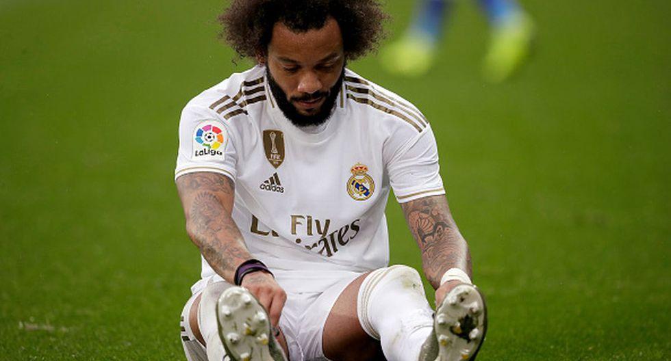 Marcelo jugó todo el último partido del Real Madrid contra Alavés. (Foto: Getty Images)