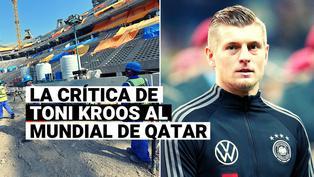 La causa suma seguidores: dura crítica de Toni Kroos a los organizadores de Qatar 2022