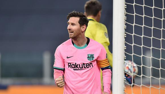 Lionel Messi convirtió el 2-0 a favor de Barcelona ante Juventus por la Champions. (Foto: AFP)