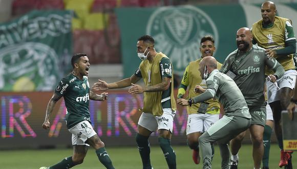 Palmeiras es el primer semifinalista de la Copa Libertadores. (Foto: Conmebol)
