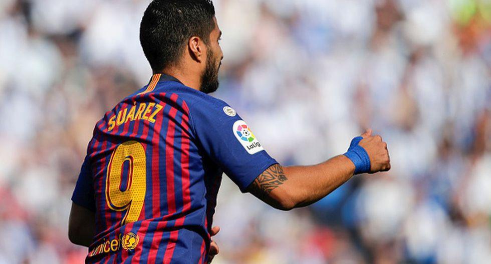 Jugador: Luis Suárez / Club: FC Barcelona. (Getty)