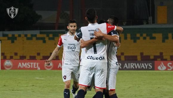 Cerro Porteño venció a América de Cali en el inicio de la Copa Libertadores. (Foto: @CCP1912oficial)