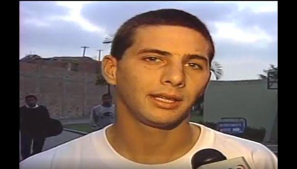 Claudio Pizarro y el día que marcó cinco goles con camiseta de Alianza Lima. (Captura)