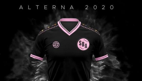 La nueva camiseta del Sport Boys para la temporada.