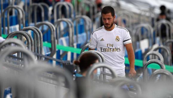 Eden Hazard llegó al Real Madrid en 2019 desde Chelsea. (Foto: AFP)