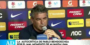 Pablo Bengoechea pone el pecho por malos resultados