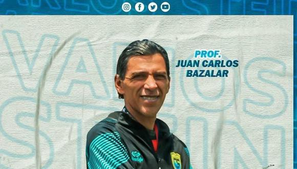 Bazalar nuevo DT de Carlos Stein. (Facebook)