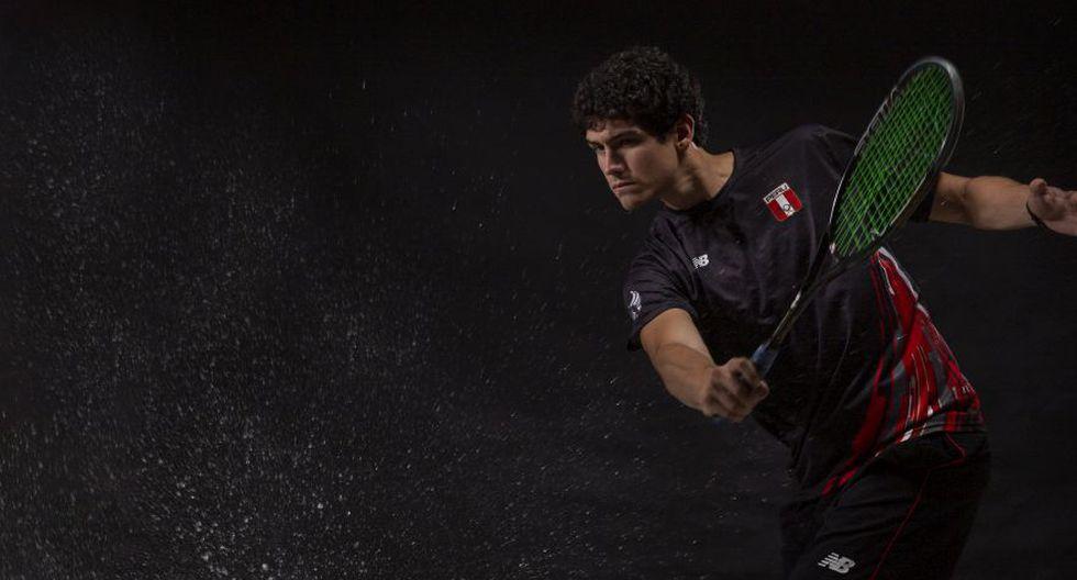 Andrés Duany se ubica actualmente en el segundo lugar del ranking nacional de squash. (José Rojas)