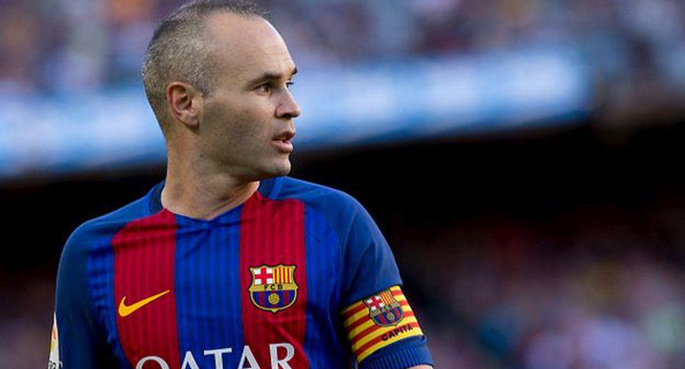 Andrés Iniesta juega en el Barcelona desde 2002 (Getty Images).