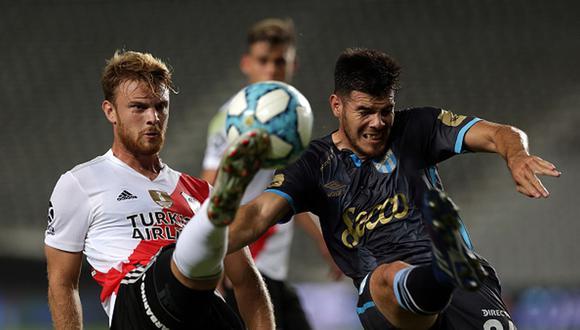 River se metió a octavos de final de la Copa Argentina 2021. (Getty)