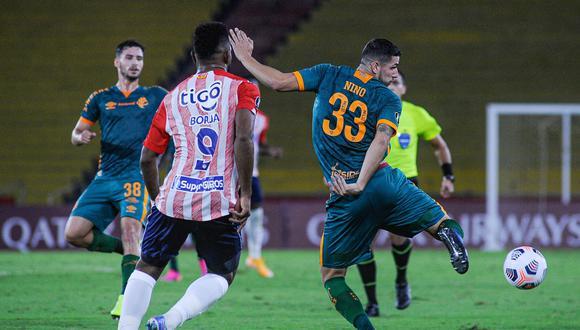 Junior y Fluminense no se sacaron diferencias. (Foto: Conmebol)