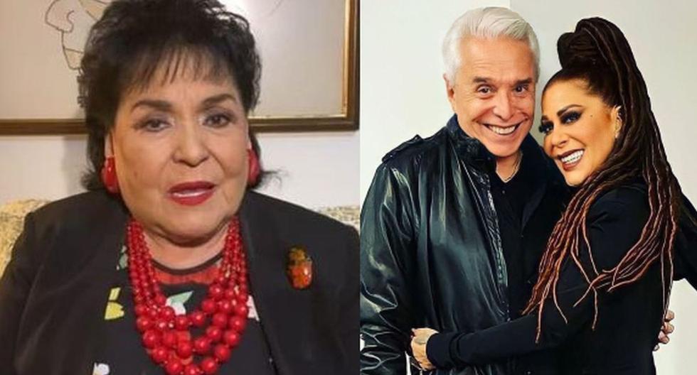 Carmen Salinas recuerda el día en que Enrique Guzmán la amenazó de muerte en vivo en televisión