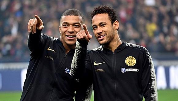 PSG tenía lista una fiesta para celebrar la Copa de Francia. (Getty)