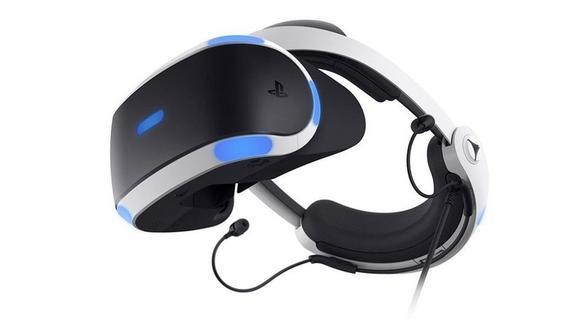 Los nuevos anteojos de realidad virtual PlayStation VR de Sony. (Foto: Sony)