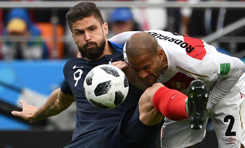 Perú vs. Francia: primeras postales del duelo en el Ekaterimburgo Arena por el Mundial Rusia 2018. (AFP)