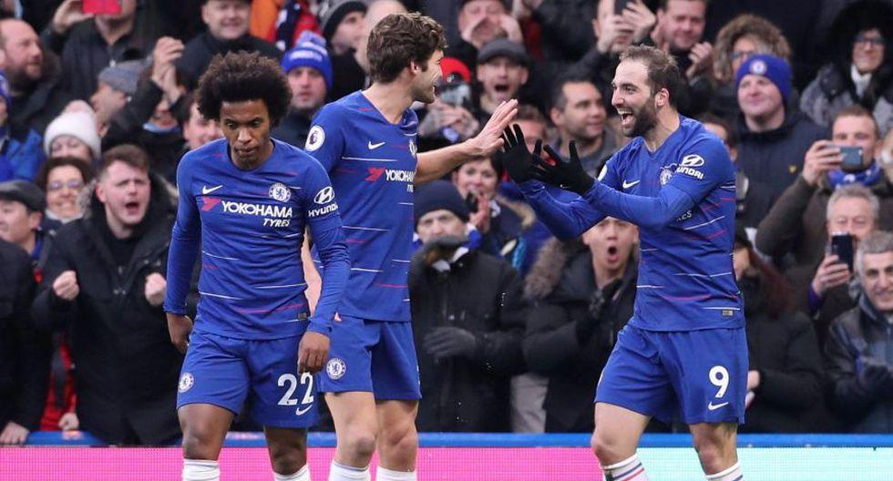 Repasa la goleada del Chelsea en una nueva jornada de la Premier League. (Foto: Agencias)