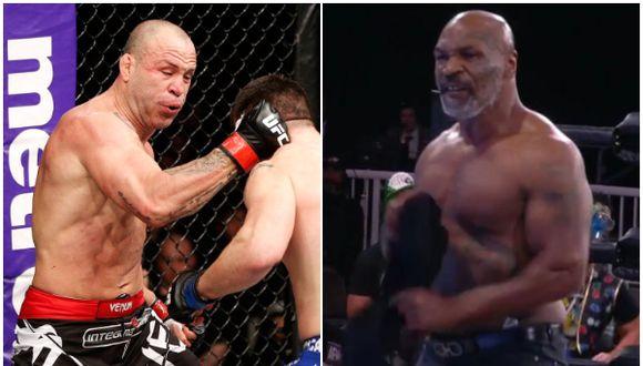 Expeleador de UFC reveló que recibió oferta de 10 millones de dólares para enfrentar al mítico Mike Tyson. (Getty Images/AEW)