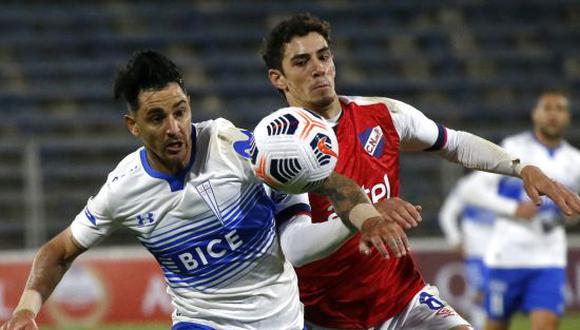 Nacional venció por 1-0 a U. Católica de Chile en la Jornada 5 de la Copa Libertadores 2021. (Foto: Twitter)