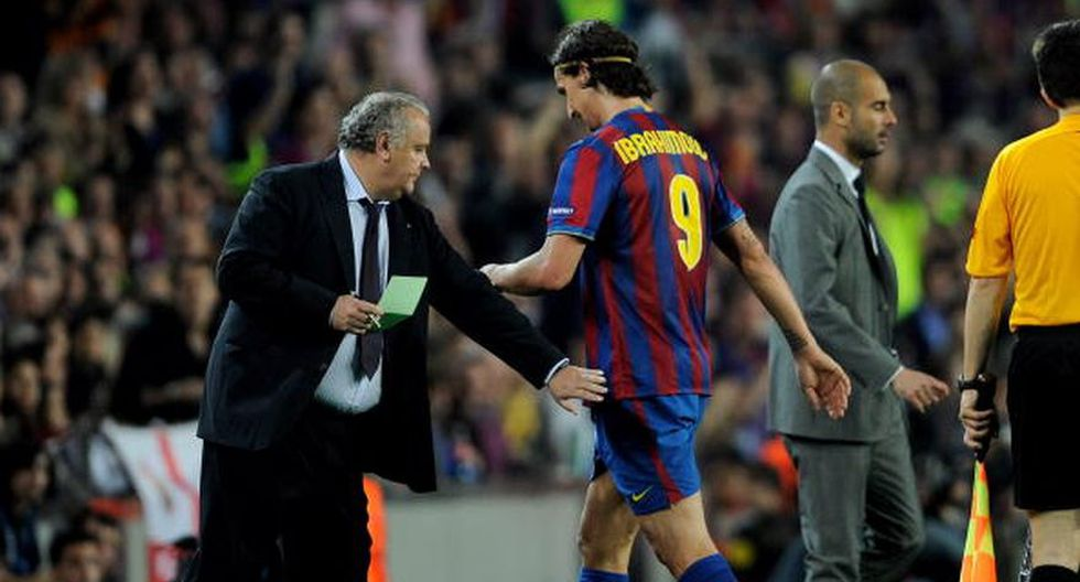 Zlatan Ibrahimovic fue marginado por Pep Guardiola en la revolución del Barcelona. El sueco fue sacrificado y nunca se lo perdonará.