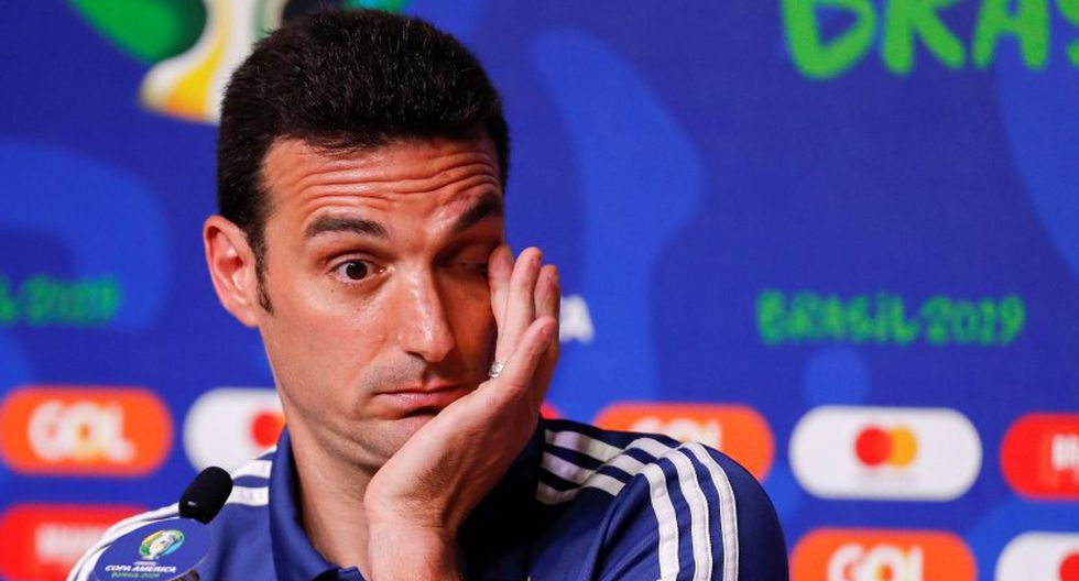 Lionel Scaloni no profundizó en la polémica entre Oscar Ruggeri y César Luis Menotti. (Foto: EFE / Video: TyC Sports)