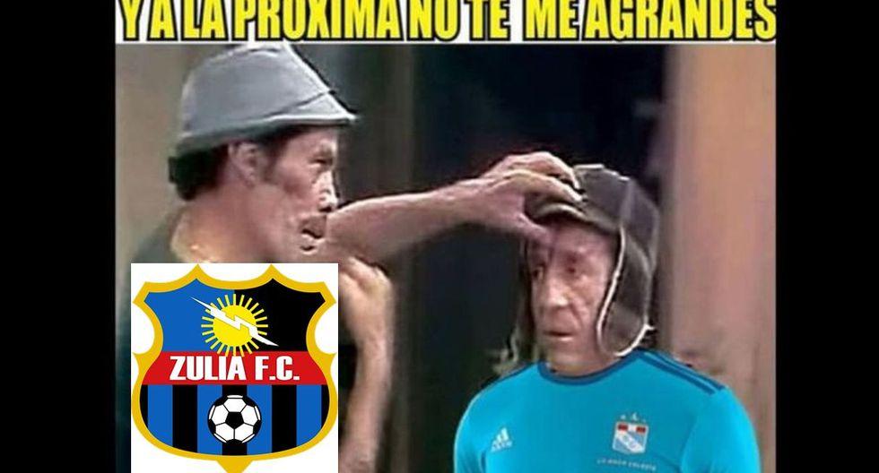 Mira todos los memes que dejó el Sporting Cristal vs. Zulia FC por la Copa Sudamericana. (Fotos: internet)