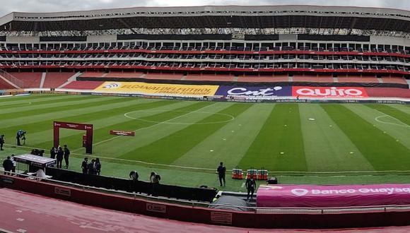 Así luce el campo para el Perú vs. Ecuador. (Foto: Depor)