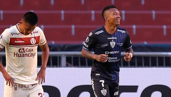 Jhon Jairo Sánchez le marcó tres goles a la 'U' en Copa Libertadores. (Foto: Agencias)