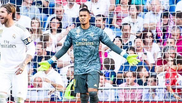 Areola llegó esta temporada a préstamo procedente del PSG. (Getty)