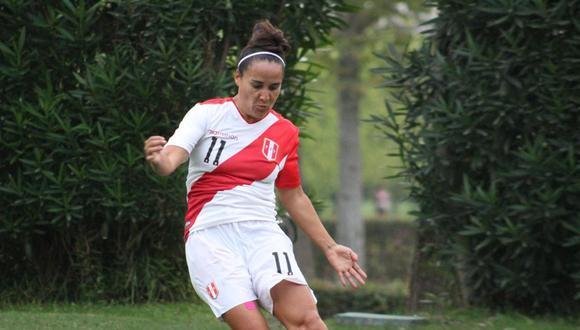 María José López jugó los Juegos Panamericanos Lima 2019. (Foto: FPF)