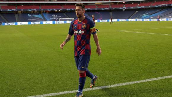 Lionel Messi mantiene contrato con el FC Barcelona hasta mediados del 2021 (Foto: AFP)