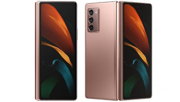 Samsung lanzó su segundo smartphone plegable capaz de convertirse en tablet. Conoce más sobre el Galaxy Z Fold 2. (Foto: Samsung)