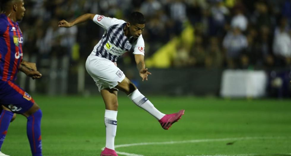 Quevedo puso el primero en el Alianza Lima vs. Alianza Universidad. (Foto: Giancarlo Ávila/ GEC)