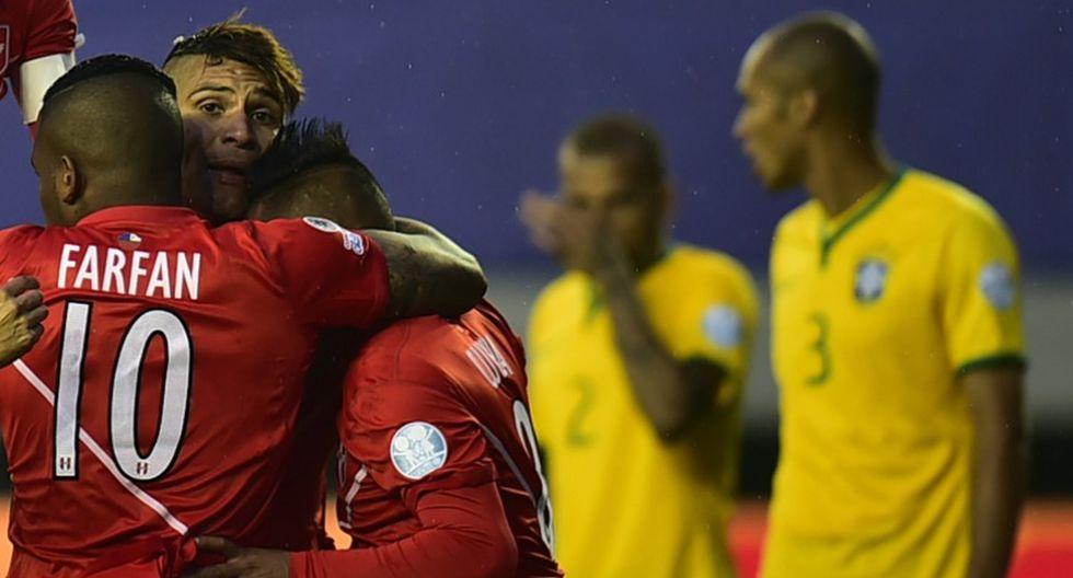 Perú y Brasil pactaron amistoso internacional. (AFP)