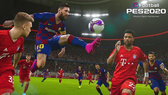 eFootball PES 2020 ya se encuentra a la venta para las plataformas PS4, Xbox One y PC Steam en dos versiones: estándar y legendaria. (Foto: Difusión)