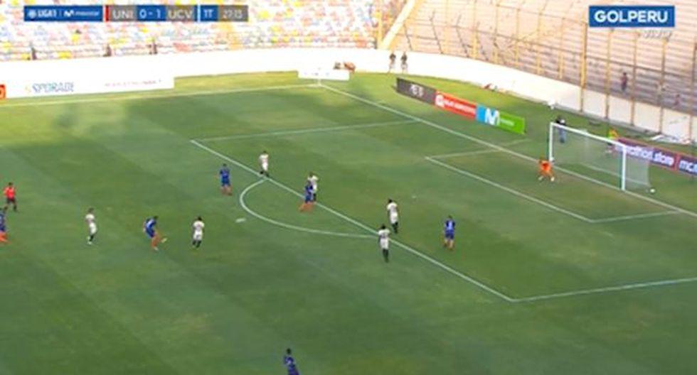 Mira el segundo gol de Germán Pacheco en el Universitario vs. César Vallejo. (GOLPERU)