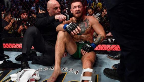 La última burla de Floyd Mayweather a Conor McGregor por su lesión en el pie en UFC. (UFC)