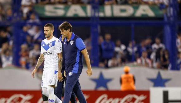 Fernando Gago llegó a Vélez tras su segunda estancia en Boca Juniors. (Foto: AFP)