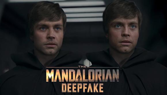"""Star Wars: The Mandalorian"": ni el 'deepfake' soluciona el rostro de Luke Skywalker. (Foto:  Shamook)"