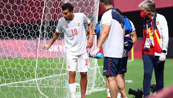 Dani Ceballos sufrió un duro pisotón en el España vs. Egipto. (Foto: Agencias)