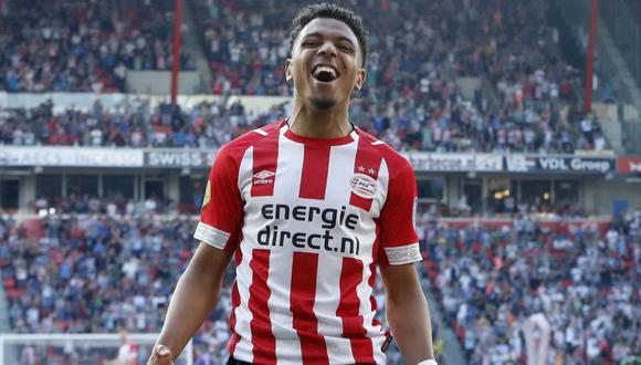 Donyell Malen volverá a aparecer ante el Sporting Lisboa por la Europa League.