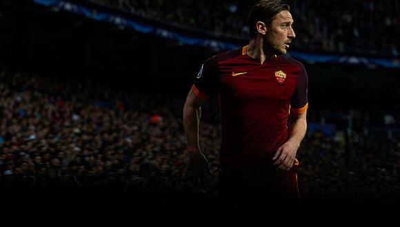 Francesco Totti rechazó la oferta del Real Madrid por seguir en AS Roma. (Getty)