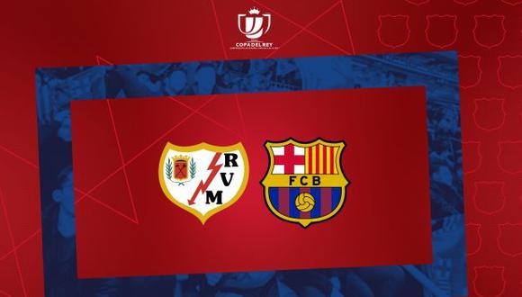 Barcelona y Rayo Vallecano se disputarán el boleto a cuartos de final de la Copa del Rey. (Foto: FC Barcelona)