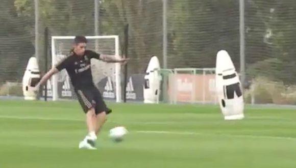 James Rodríguez busca una nueva chance para destacar en Real Madrid. (RMTV)