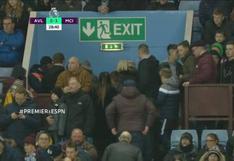 Hinchas de Aston Villa abandonaron su estadio en el minuto 29 por el 3-0 en goleada del Manchester City [VIDEO]