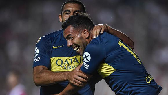 Con gol de Tevez: Boca Juniors venció 3-1 a Unión de Santa Fe por la Superliga Argentina. (Getty)