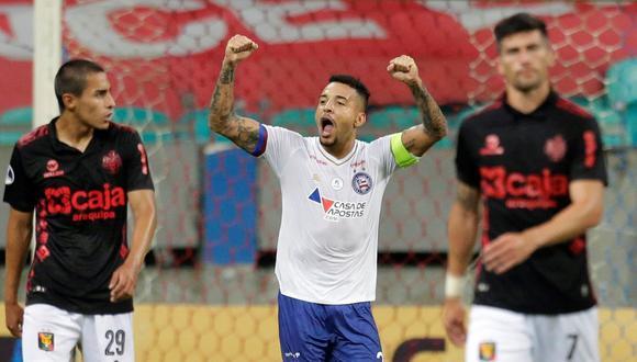 Bahía golea a Melgar en la Copa Sudamericana. (Foto: Agencias)